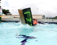 Shiver at Cardboard boat race-10