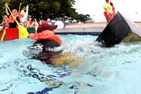 Shiver at Cardboard boat race-18