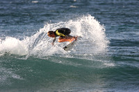 Nick Hdez surfing Rocky Point