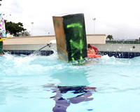 Shiver at Cardboard boat race-11